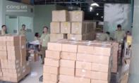 TP.HCM: Phát hiện kho hàng thực phẩm chức năng lậu hàng chục tỷ đồng