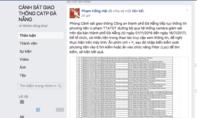 CSGT Đà Nẵng công khai 6.529 trường hợp vi phạm lên mạng xã hội