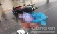 Va chạm với xe container, hai vợ chồng tử vong