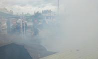 Clip cháy nhà dân trong khu dân cư