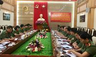 Bộ Công an làm việc với Công an tỉnh Quảng Ninh