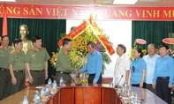 Lãnh đạo Bộ Công an chúc mừng Tổng Liên đoàn Lao động Việt Nam nhân kỷ niệm 88 năm Ngày thành lập