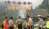 Rơi trực thăng cứu hộ ở Indonesia khiến 8 người thiệt mạng