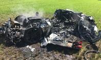 Siêu xe gần 7 tỷ đồng bốc cháy trơ khung chỉ sau 1 tiếng về tay chủ mới