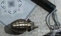 Nhóm thanh niên mang lựu đạn vào nhà nghỉ sử dụng ma tuý