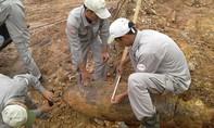 Thi công tái định cư, phát hiện bom 'khủng' gần 350kg