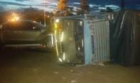 2 xe ô tô tông nhau khiến 4 người bị thương