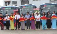 Vận hành 34 xe buýt sử dụng nhiên liệu sạch
