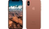 iPhone 8 sẽ có màu vàng đồng