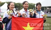 Bắn cung đồng đội nữ giành HCB thứ 2 cho Thể thao Việt Nam