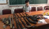 Tìm thấy 'kho' vũ khí trong lán buôn ma túy