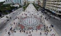 Lộ trình thay thế khi đường Nguyễn Huệ bị cấm xe vào sáng 6-8