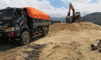 Cảnh sát Môi trường bắt quả tang bãi khai thác cát trái phép