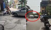Hà Nội: Tài xế nghi tàng trữ ma tuý chạy trốn CSGT, gây tai nạn cho nhiều người