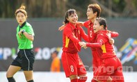 Tuyển nữ Việt Nam thắng thuyết phục Myanmar