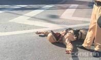 Tông chiến sỹ CSGT trọng thương, lái xe rú ga bỏ chạy