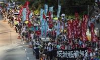 Hàng chục ngàn người biểu tình ở Hong Kong đòi thả 3 thủ lĩnh sinh viên