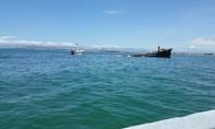 Tàu Việt Hải 06 chở 3000 tấn thép chìm trên biển Ninh Thuận