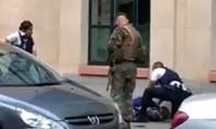 Cảnh sát Bỉ tiêu diệt một người đàn ông đâm trọng thương binh sĩ
