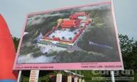 Chủ đầu tư xin UBND tỉnh được dừng dự án Khu du lịch tâm linh 1.000 tỷ