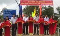 Nguyên Chủ tịch nước Trương Tấn Sang khánh thành 6 cầu nông thôn tại Long An