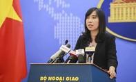 Việt Nam phản đối Trung Quốc huấn luyện bắn đạn thật ở Hoàng Sa
