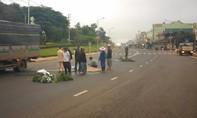 Một phụ nữ nghi bị xe khách tông tử vong rồi bỏ chạy