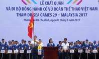 5.000 người đi bộ đồng hành cùng đoàn Thể thao Việt Nam dự SEA Games 29