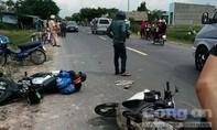 3 xe máy tông nhau, 5 người thương vong