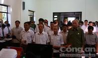 Xét xử 14 cựu cán bộ xã Đồng Tâm hợp thức hóa đất sai quy định