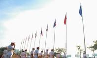 CLIP: Lễ Thượng cờ ASEAN kỷ niệm 50 năm tại TP.HCM