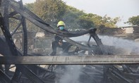 Cháy lớn tại khu công nghiệp Linh Trung III
