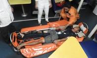 Kịp thời cứu hộ ngư dân bị đa chấn thương khi đang hành nghề trên biển