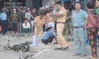 'Xế hộp' tông 3 xe máy, 1 người chết
