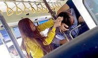 Xôn xao clip nhân viên xe buýt đánh nhau với hành khách