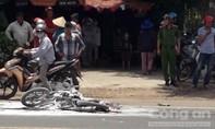 Vụ xe máy bốc cháy ở Xuân Lộc, Đồng Nai: Bé gái 3 tuổi đã tử vong