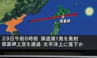 Triều Tiên bắn tên lửa thứ hai bay qua lãnh thổ Nhật Bản