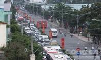 Cầu Rạch Miễu ùn tắc nhiều cây số trong ngày 2-9