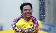 Tay đua Lê Nguyệt Minh chiếm áo vàng chặng đầu tiên