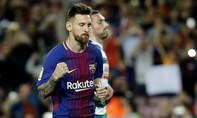 Messi ghi 4 bàn giúp Barca đại thắng