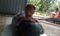 Người dân bắt được cụ Rùa lạ, tiên đoán khoảng 70 tuổi