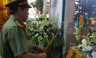 Tiếc thương Thượng uý Cảnh sát PCCC hy sinhkhi làm nhiệm vụ