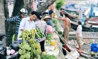 Có một 'chợ nổi miền Tây' giữa lòng TP.HCM