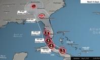 Siêu bão Irma hùng hục lao vào nước Mỹ