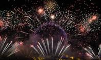 Clip pháo hoa chào năm mới 2018 ấn tượng tại các nơi trên thế giới