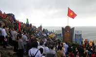 Lễ chào cờ đầu năm mới tại điểm cực Đông trên đất liền của Tổ quốc