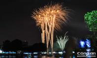 Đầm Sen tưng bừng với lễ hội và pháo hoa Tết Dương lịch 2018