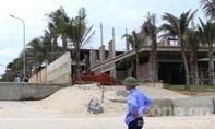 Dự án trăm triệu USD ven biển Đà Nẵng xây trái phép, lấn bờ biển
