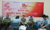 Đoàn Thanh niên Công an TP.HCM hiến 806 đơn vị máu
