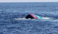 Hai cha con cùng tàu cá mất tích trên biển